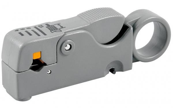 Dezizolator cablu coaxial cu 2 lame 0