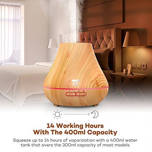 Difuzor Aroma terapie TaoTronics TT AD004 400ml 13W 14 ore [2]