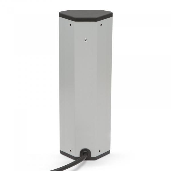 Distribuitor de colţ 5 x 250V, 16A / 2 x USB, 2,1A [2]