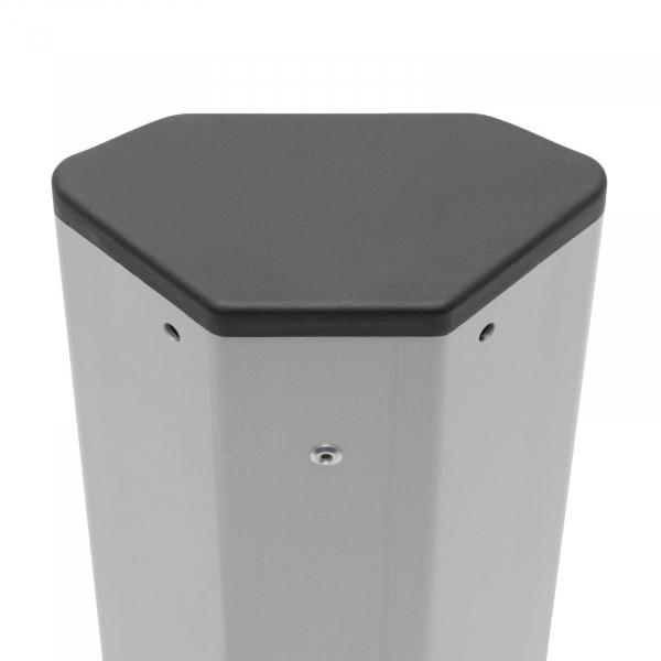 Distribuitor de colţ 5 x 250V, 16A / 2 x USB, 2,1A [4]