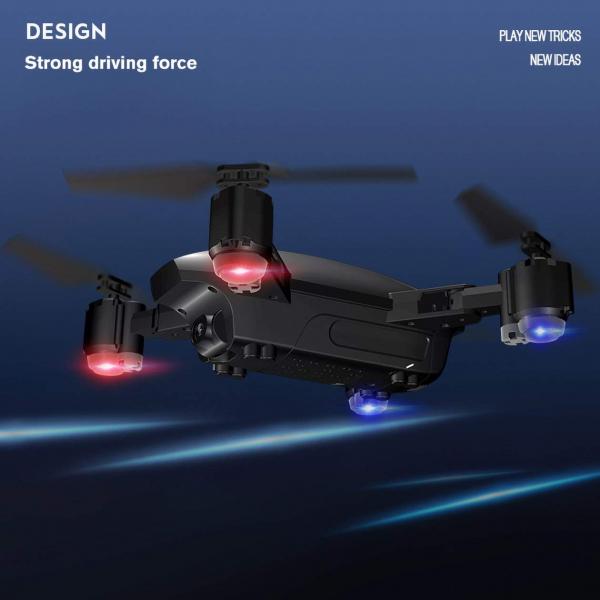 Drona KK12 GPS camera 1080p cu transmisie Wifi pe smartphone si geanta transport 6