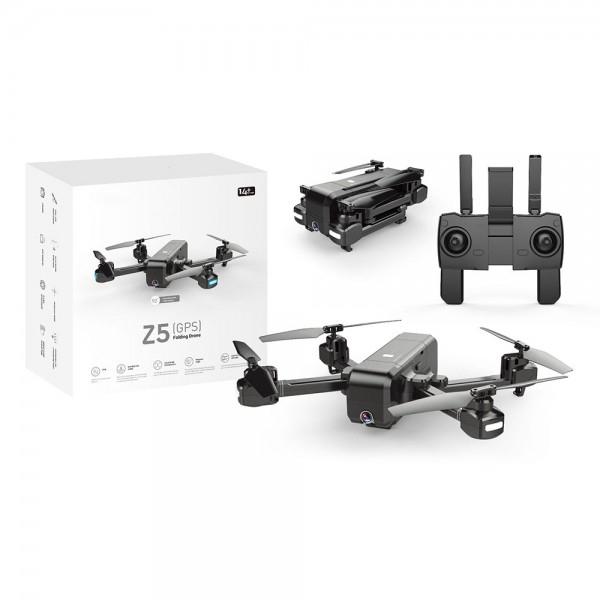 Drona SJRC Z5 GPS , Active Track, camera 1080p cu transmisie live pe telefon, brate pliabile 5