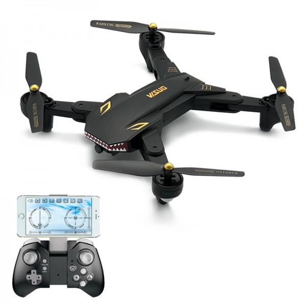 Drona Visuo XS809S Camera 2Mp cu transmisie pe telefon, altitudine automata 20min [0]