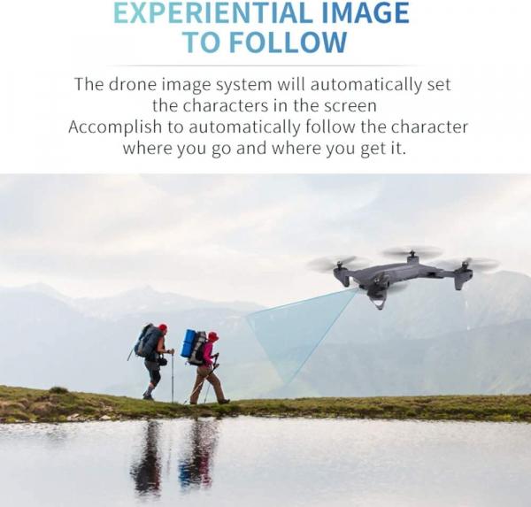 Drona Visuo XS816, Camera 4K cu transmisie pe telefon, Control gesturi, Altitudine automata, Pozitionare optica [5]