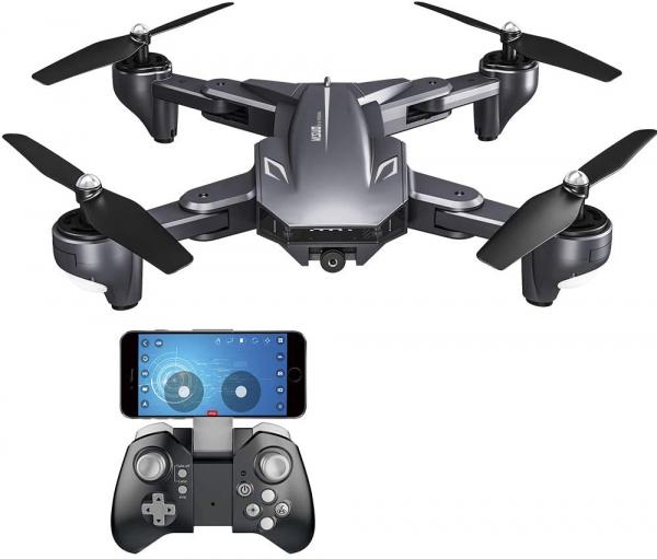 Drona Visuo XS816, Camera 4K cu transmisie pe telefon, Control gesturi, Altitudine automata, Pozitionare optica [0]