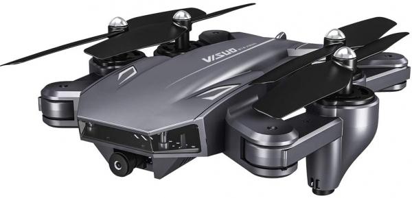 Drona Visuo XS816, Camera 4K cu transmisie pe telefon, Control gesturi, Altitudine automata, Pozitionare optica [1]