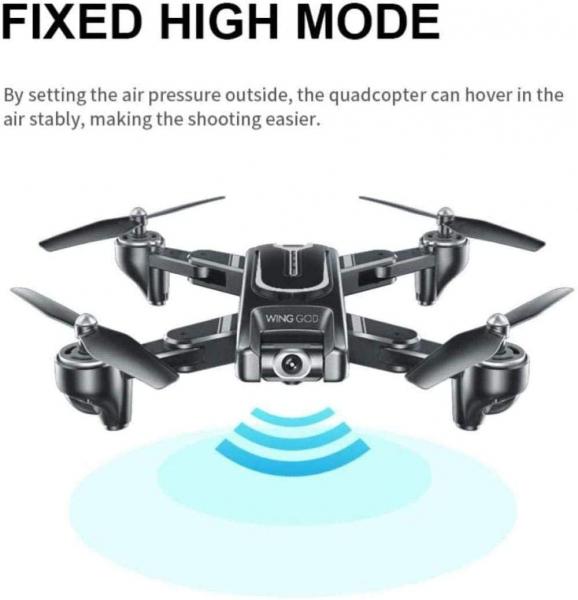 Drona Visuo XS817, camera 4K cu transmisie live pe telefon, GPS [4]