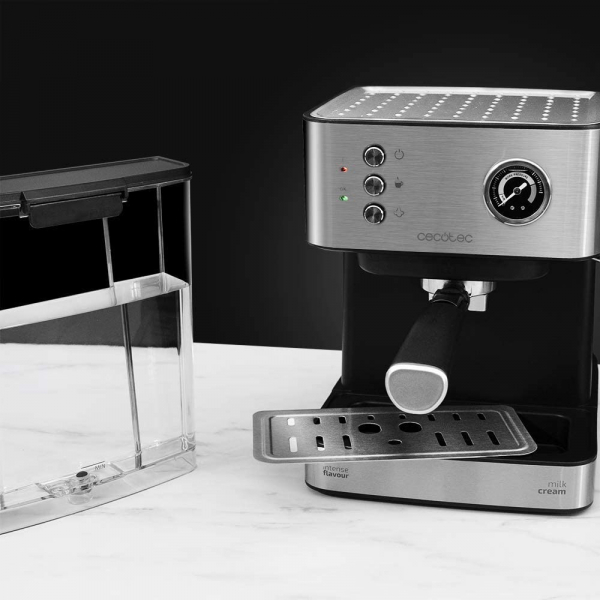 Espressor profesional Cecotec Power Espresso 20 Professionale, 850 W, 20 bar, 1.5 l, indicator luminos 2