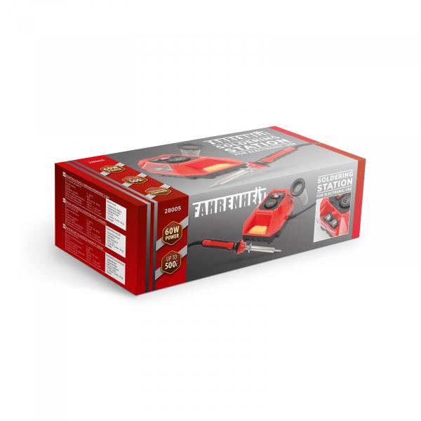 Fahrenheit - Staţie de lipit cu cositor şi suport pentru ciocan, 230 V / 60 W 4