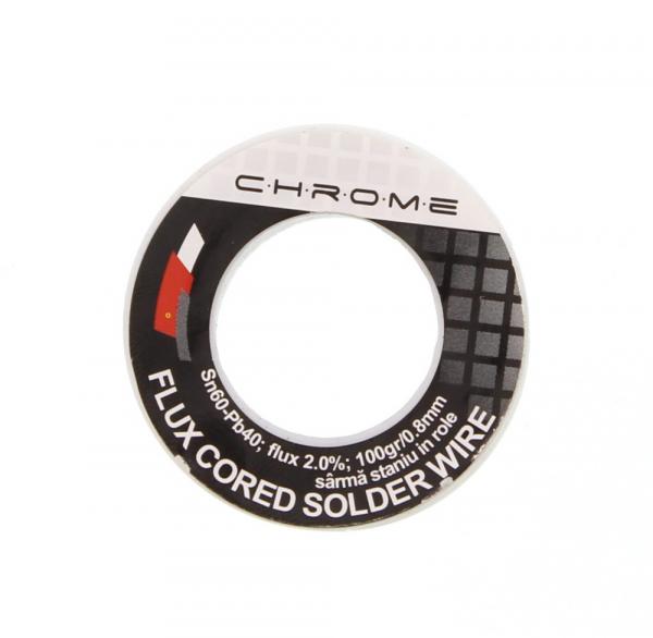 Fludor 100gr 0.8mm SN60 PB40 [0]