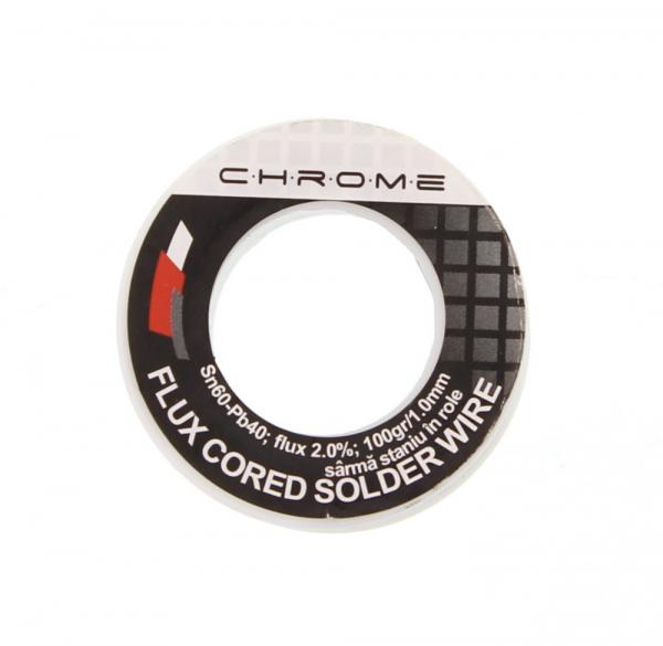 Fludor 100gr 1.0mm SN60 PB40 Chrome [0]