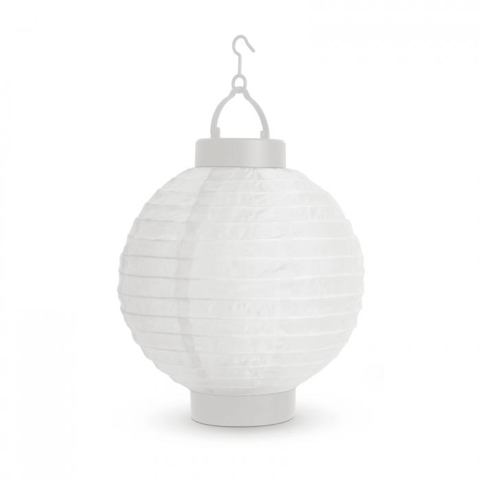 Garden of Eden - Lampion solar cu LED alb, alb rece 21 cm 0