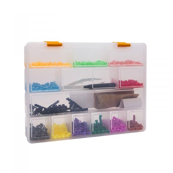 Cutie organizator din plastic stocare si sortare - 275 x 200 x 40 mm 2