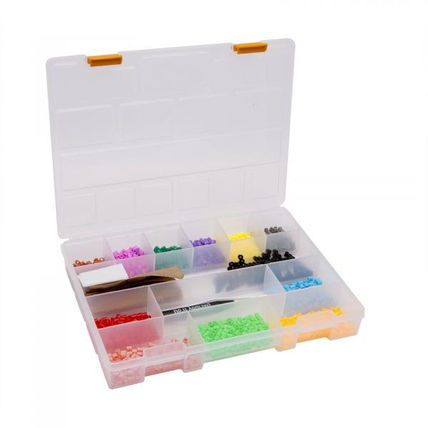 Cutie organizator din plastic stocare si sortare - 275 x 200 x 40 mm 0