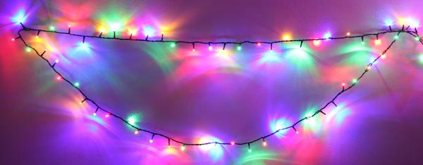 Ghirlanda luminoasa 180 LED-uri multicolore interconectabila, Well [0]