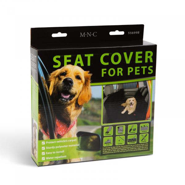 Husa de protectie-scaune auto pentru animale de companie - 140 x 130 cm 3