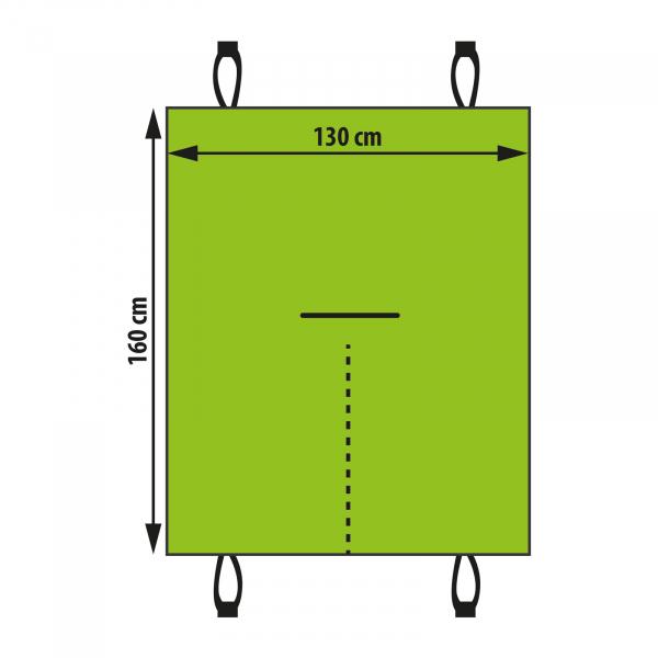 Husa de protectie-scaune auto pentru animale de companie - 140 x 130 cm 2