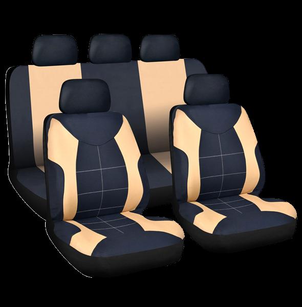 Set huse auto universale pt 5 scaune, model Elegance 0