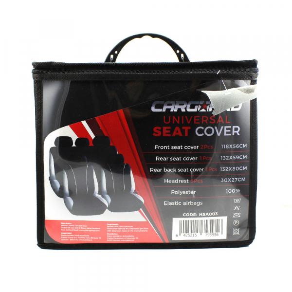 Huse universale pentru scaune auto - gri - CARGUARD 1