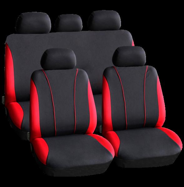 Huse scaune auto universale - Red / culoare rosie 0