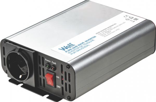 Invertor de tensiune 12V -> 230V, 300W Well 0