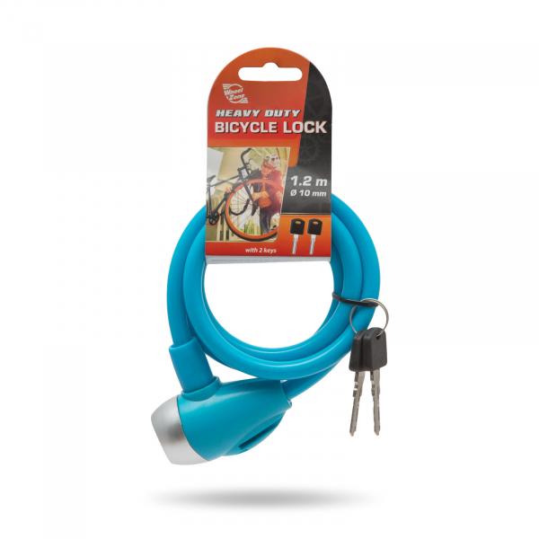 Antifurt bicicletă tip cablu de oţel Ø10 mm [3]