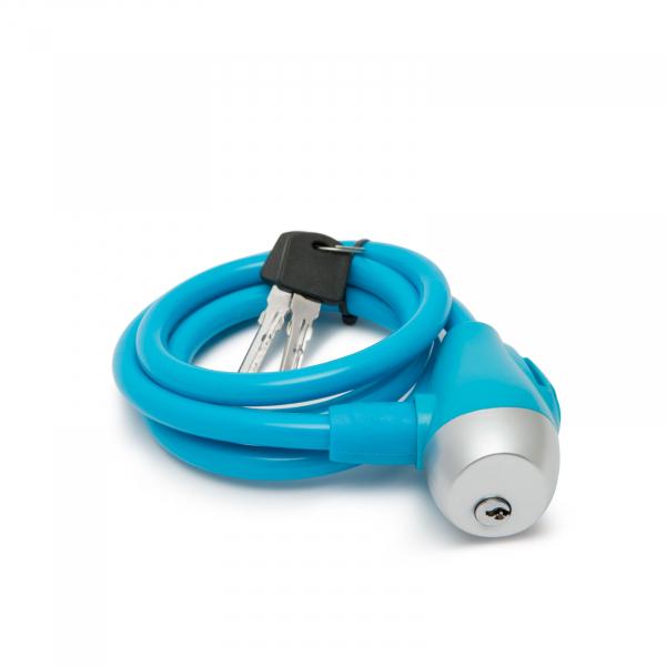 Antifurt bicicletă tip cablu de oţel Ø10 mm [0]