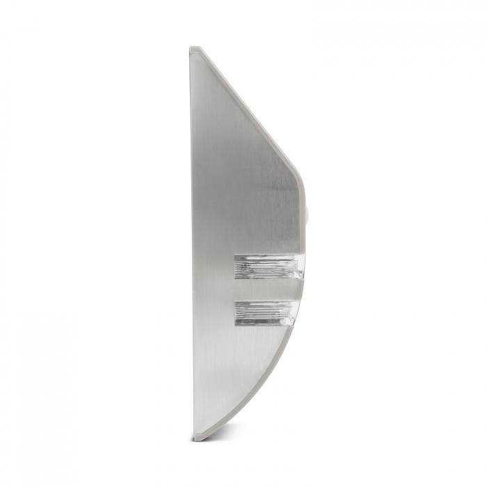 Lampă solară LED - cu senzor de mişcare - alb rece - 170 x 78 mm 4