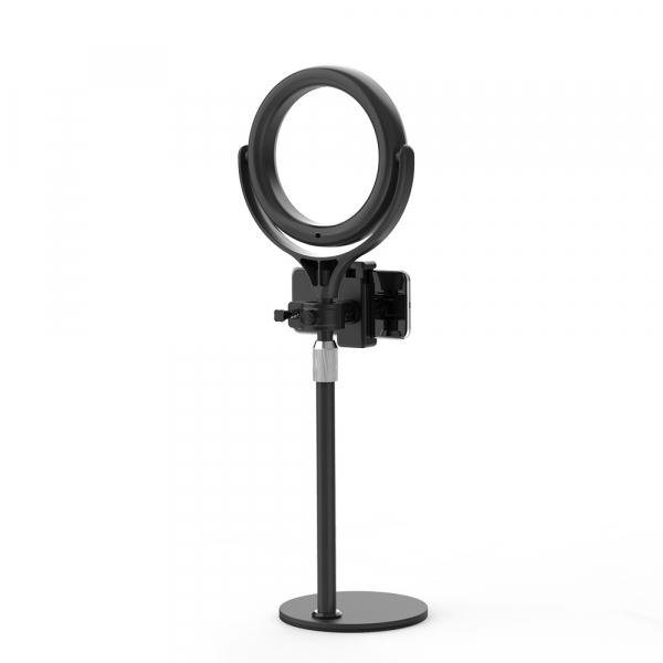 Lampa foto circulara LED BlitzWof BW-SL4 Make up Profesionala, Ring Light 64 Leduri Lumina Rece si Calda Tip Inel 3