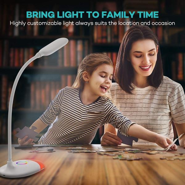 Lampa de birou LED TaoTronics TT DL070 control Touch  Protectie ochi  7W  Acumulator incorporat 4