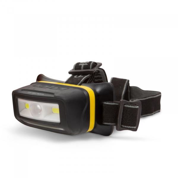 Lampa de cap cu acumulator Li-Ion, iluminare COB-LED 0