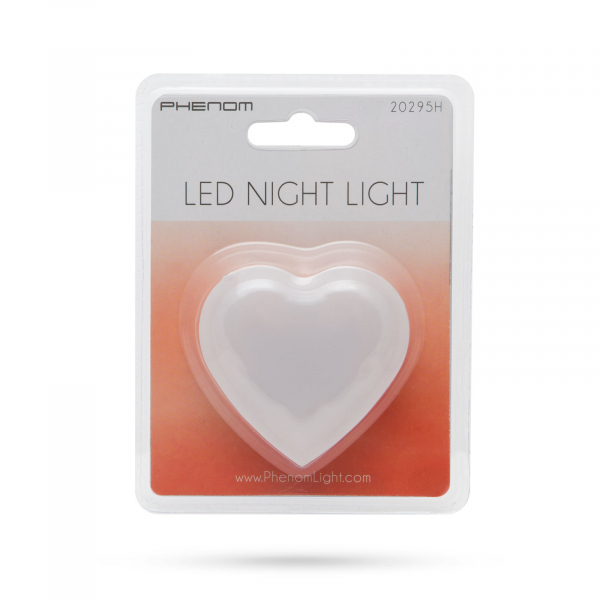 Lumina de veghe, lumina de noapte model inima (rosu) [2]
