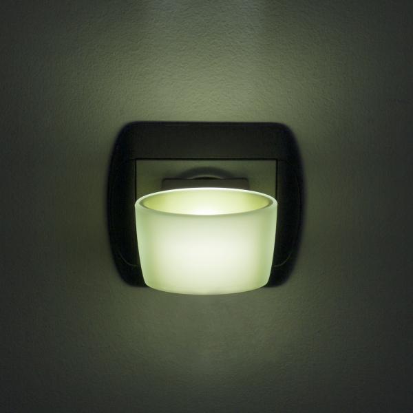 Lumina de veghe LED cu senzor tactil - verde [0]