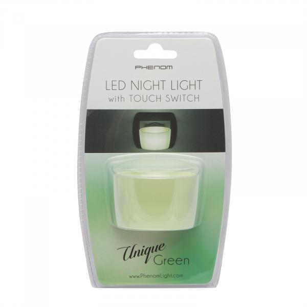 Lumina de veghe LED cu senzor tactil - verde [2]