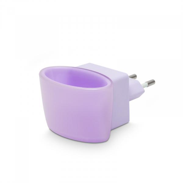 Lumina de veghe LED cu senzor tactil - violet [1]