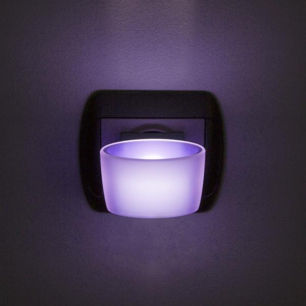 Lumina de veghe LED cu senzor tactil - violet [0]