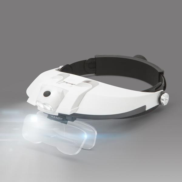 Lupa de cap cu iluminare LED, cu lentila dubla [1]