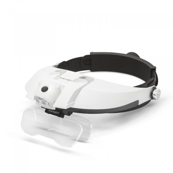 Lupa de cap cu iluminare LED, cu lentila dubla [2]