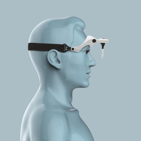 Lupa de cap cu iluminare LED si lentile interschimbabile [4]