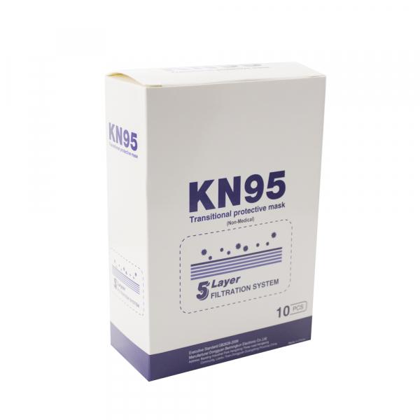 Masca de protectie KN95 = FFP2 cu 5 straturi 4