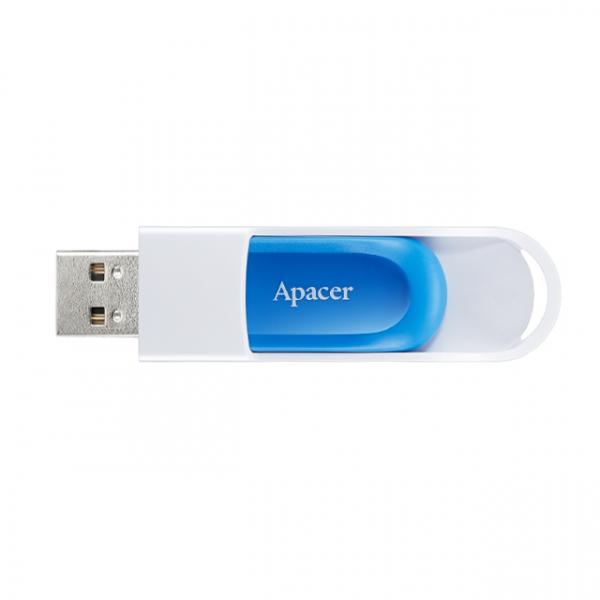 Memorie flash USB2.0 64GB retractabila albastru, Apacer [0]