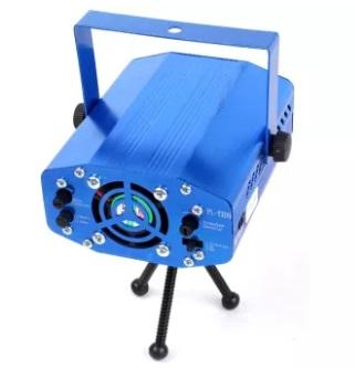Mini proiector laser rosu / verde cu efecte reglabile 1