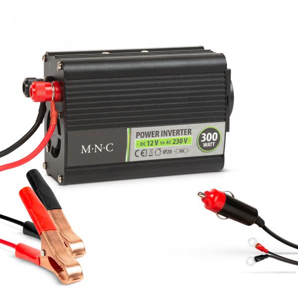 Invertor de tensiune 12 V/230 V - 300W - MNC 0