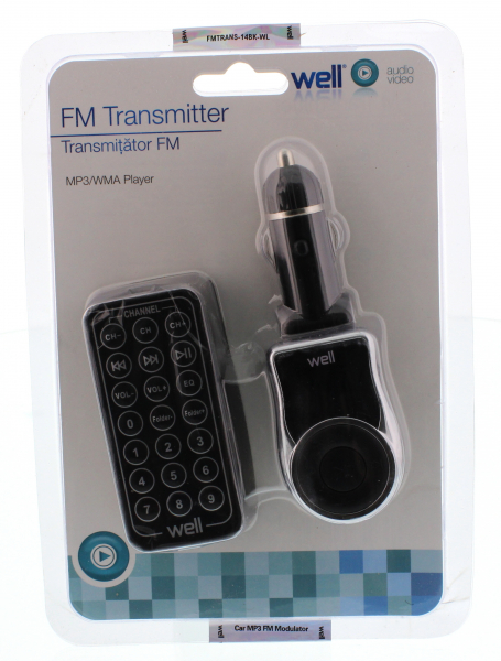 Modulator FM, MP3, telecomanda, Well 0