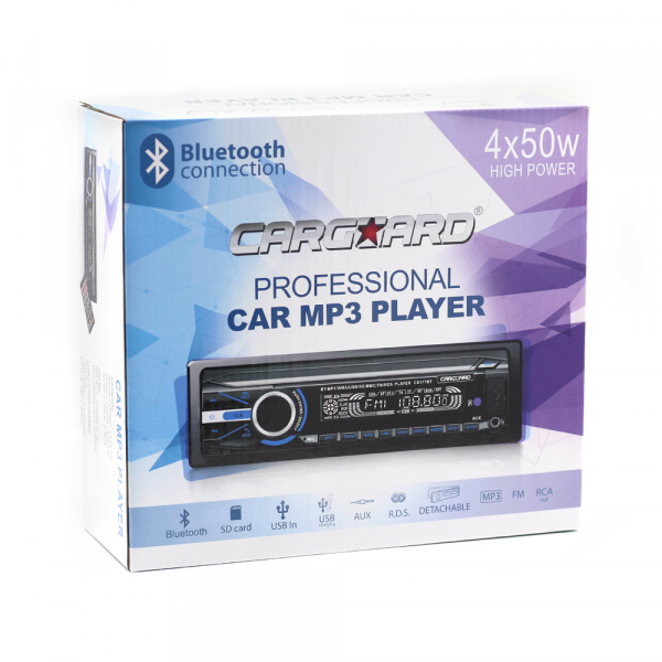 Mp3 player auto cu BLUETOOTH si fata detasabila 4x50W + telecomanda 9