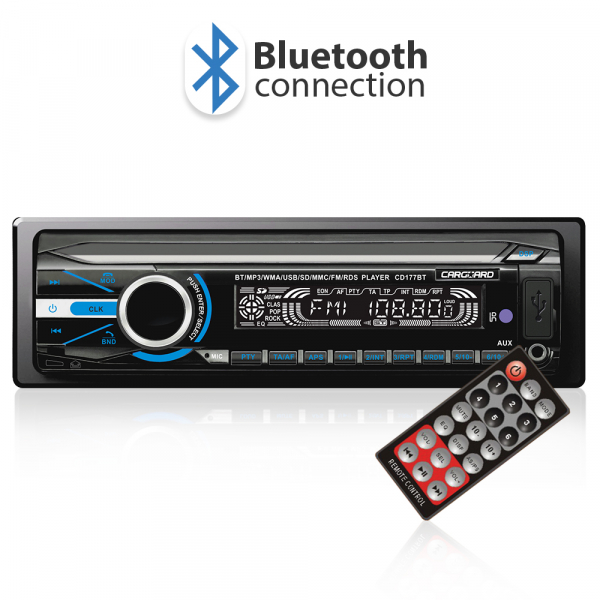Mp3 player auto cu BLUETOOTH si fata detasabila 4x50W + telecomanda 0