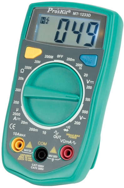 Multimetru digital  PROSKIT-1233D [0]