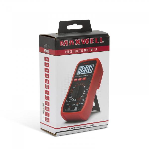 Multimetru digital, de buzunar - seria noua MP Maxwell 4
