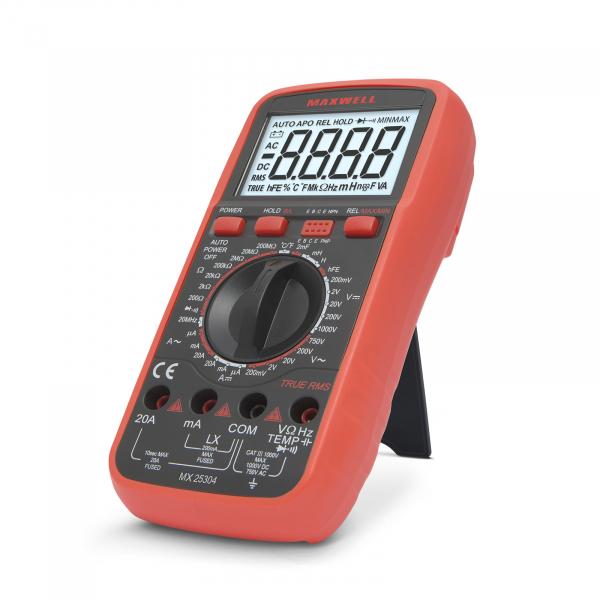 Multimetru digital - masurare inductie, True RMS 0
