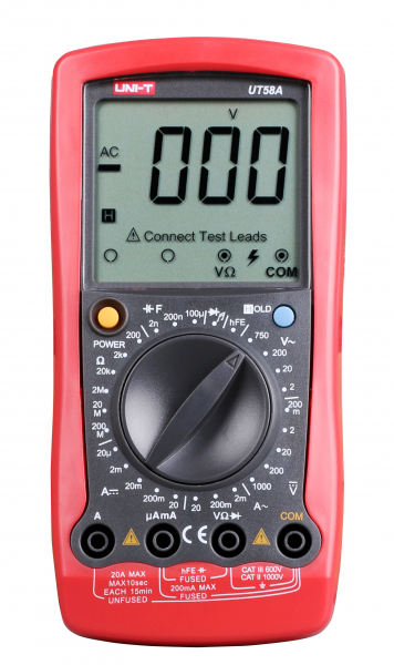 Multimetru digital UT58A UNI-T 0
